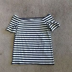 Off shoulder top, size small